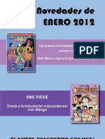 novedades Planeta DeAgostini Cómics ENERO 2012