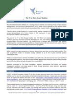 EU FfW 2011 Coalition Backgrounder
