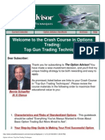 Bernie Schaeffer - Option Advisor - Top Gun Trading Techniques