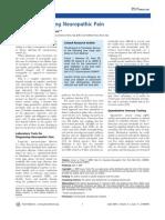 avaliação da dor neuropatica