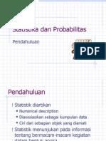 PendahuluanStatistik