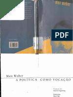 Poltica Como Vocao - Max Weber