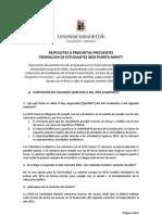 Respuestas a Preguntas Frecuentes FEUACh Puerto Montt