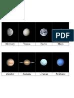 Major Planets