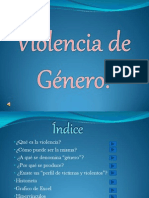 Presentación Violencia de Género.  97-2003