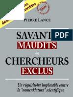 Savants Maudits - Chercheurs Exclus