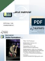 01 - FND - Calcul Matriciel - FR