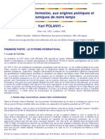 La Grande Transformation - Polanyi