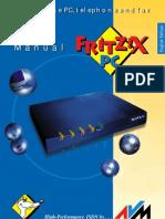 Manual Fritzx Pc