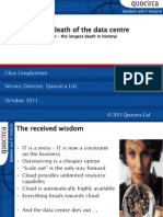The death of the data centre?