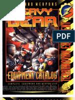 Heavy Gear Equipment Catalog