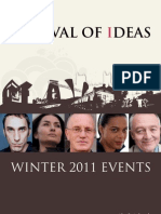 Bristol Festival of Ideas Winter Brochure December 2011