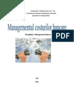 Managementul costurilor bancare