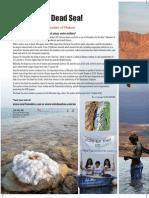 Vote for the Dead Sea