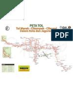 Peta Jalur Tol Jakarta Fadilaholicwordpresscom