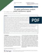 LTE UL Performance
