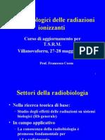 2- Effetti Biologici Delle R.I