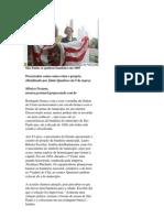 BANDEIRA MUN. SÃO PAULO - matéria jornal