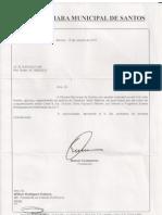 Votos de Congratulações da Câmara Municipal de Santos - 06/10/2011