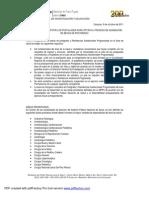 Normativa y Requisitos de Beca2012