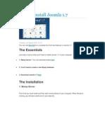 How to Install Joomla 1