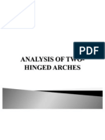Analysis of Two-hinged Arches..