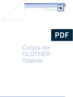 Colors for Clother Tutorial