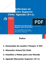 Reformas Educacion Superior Chile