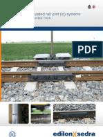 edilon)(sedra Leaflet EDILON TC Insulated Rail Joint 2010-2011