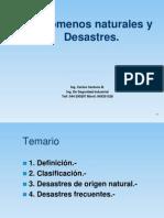 Desastres naturales y antropicos