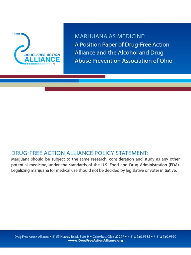 what it means to be drug free essay