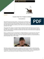 Venezuela's Hugo Chavez Struggles to be Rational