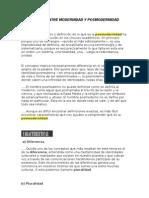 Diferencias Entre Modern Id Ad y Posmodernidad