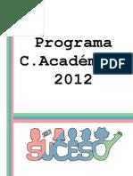 Programa Definitivo C.A SUCESO 2012
