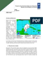 Boletín del Huracán Rina 26 de Octubre de 2011