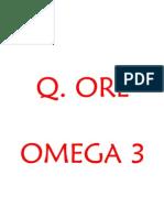 Q ore omega 3
