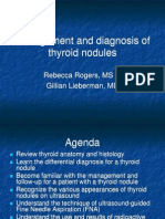 Approach Thyroid Nodule