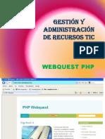Manual Webquest Php