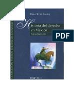 Historia Del Derecho Mexicano 2 Derecho Caste Llano Oscar Cruz Barney