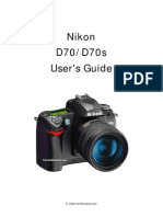 Nikon d70 Users Guide