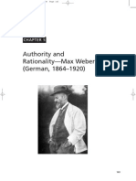 6109 Allen Chapter 5[1] Authority and Rationality Max Weber