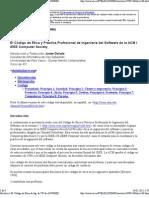 Código de Etica de Ing. de SW de ACM_IEEE