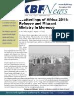 November 2011 KBF Newsletter