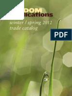 Wisdom 2012 Winter Spring Trade Catalog