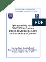 99 Fratelli Lrfd Jul 2007 Estructuras de Acero Venezuela