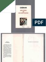 CIORAN, E.M. - Breviário da decomposição