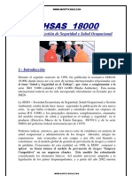OHSAS 18000 INTRODUCCION