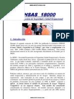 OHSAS 18000 INTRODUCCION