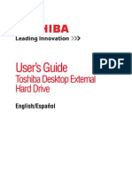 User Guide Ext Toshiba External Hd