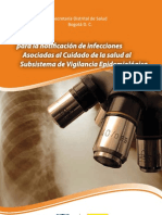 Criterios para la Notificacion de Infecciones Asociadas al Cuidado de la Salud al Subsistema de Vigilancia Epidemiologica en Bogota